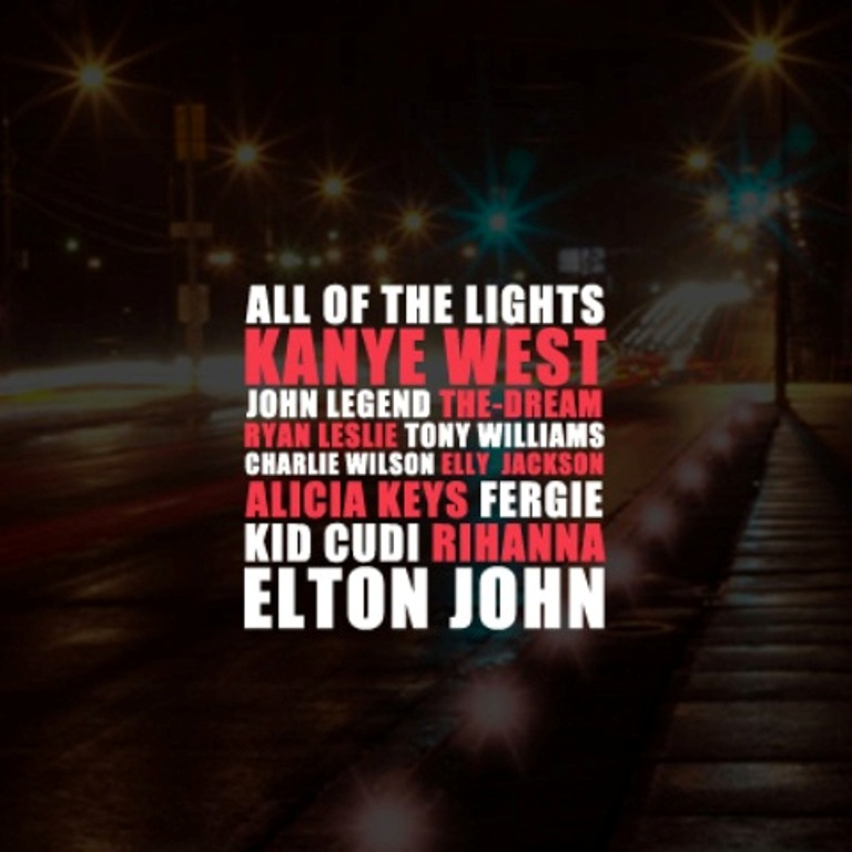 kanye west all of the lights album cover. Kanye+west+all+of+the+